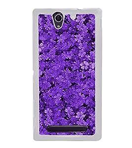 Flowers 2D Hard Polycarbonate Designer Back Case Cover for Sony Xperia C4 Dual :: Sony Xperia C4 Dual E5333 E5343 E5363