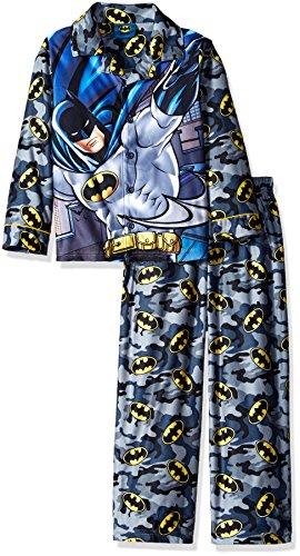DC Comics Boys' Bmj Coat Front Pj Batman at Gotham City Store