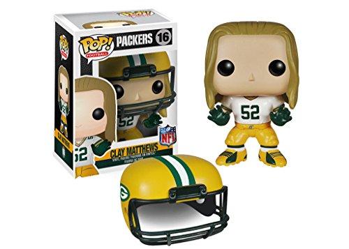 Funko Pop NFL Football Wave 1 Packers Clay Matthews Vinyl Action Figure Toy 4548 PRS