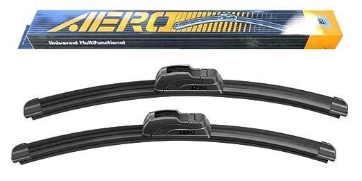 OEM QUALITY 22 + 19 AERO Premium All-Season Frameless Windshield Wiper Blades