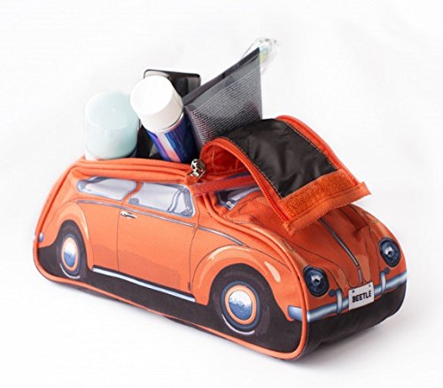 classic-60s-style-orange-vw-volkswagen-beetle-toiletry-wash-bag