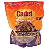 Cadet Sweet Potato Wrapped with Duck for Dogs, 2-Pound