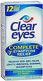 Clear Eyes Complete 7 Symptom Relief Eye Drops-0.5 fl oz