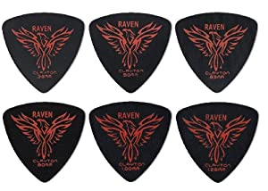 Clayton Picks Black Raven BRT100/12 Guitar Picks