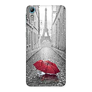 Tower Red Umbrella Back Case Cover for HTC Desire 826