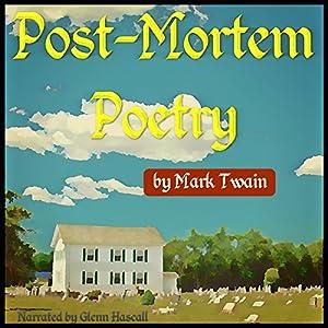 Post-Mortem Poetry Audiobook
