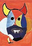 【DXポスター】子供地球基金のアートポスター 仮面 抽象画 インテリア 壁飾り P-A3-KEF-K-38-0000 P-A3-KEF-K-38-0000