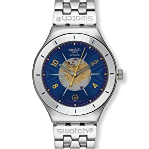 Swatch Midday Sun Automatic Stainless Steel Mens Watch YAS409G