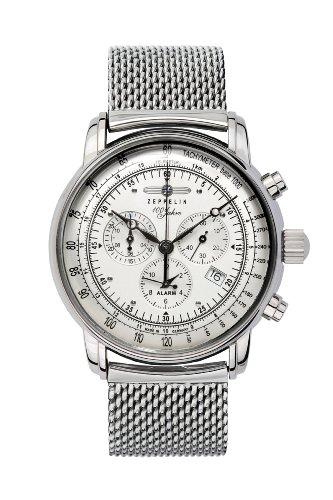 Zeppelin Chronograph/ Alarm Watch 7680M-1