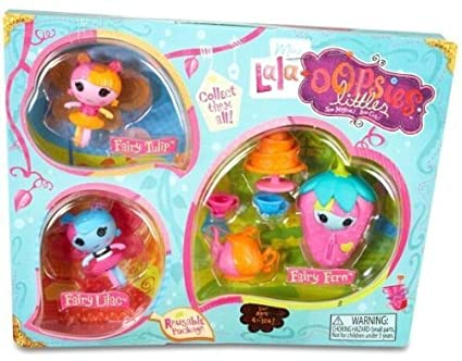 Lalaloopsy Mini Lala Oopsies Little Fairies-Green Style by MGA Entertainment (English Manual)