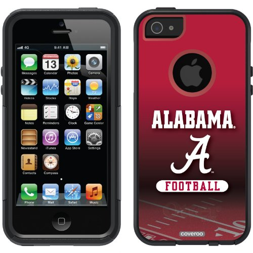 Special Sale Alabama - Football Field design on a Black OtterBox® Commuter Series® Case for iPhone 5s / 5