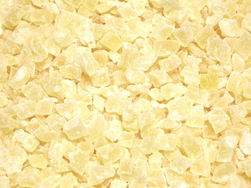 Dried Diced Pineapple, Low Sugar No Sulfur (Natural Dices, no SO2) (1.5 pounds)