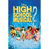 (22x34) High School Musical 2 Movie (Group Jumping) Poster Print