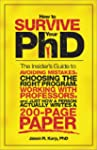 How to Survive Your PhD: The Insider'...
