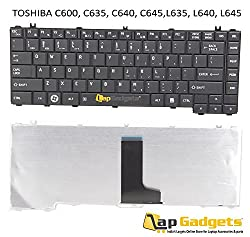 Lap Gadgets Laptop Keyboard For Toshiba Satellite L640D Series 6 months warranty with Free Keyboard Protector Skin by Lap Gadgets