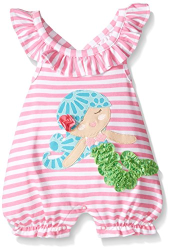 3910a595f3f97 Mud Pie Baby Girl One Piece Bubble, Multi, 12-18 Months - Import It All