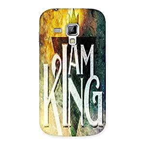Ajay Enterprises I King Back Case Cover for Galaxy S Duos