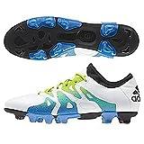 [アディダス] adidas サッカーシューズ エックス15.1ージャパン HG S74623 S74623 (ランニングホワイト/セミソーラースライム/コアブラック/27.5)