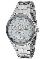 Casio Edifice Analog Silver Dial Men's Watch EF-326D-7AVDF (ED337)