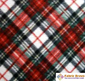 red green angle anti pill plaid fleece fabric 60 inches wide and sold by the yard. Black Bedroom Furniture Sets. Home Design Ideas