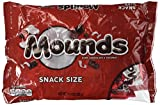 Mounds Candy Bars, Snack Size, 11.3-Ounce Bag (Pack of 2)