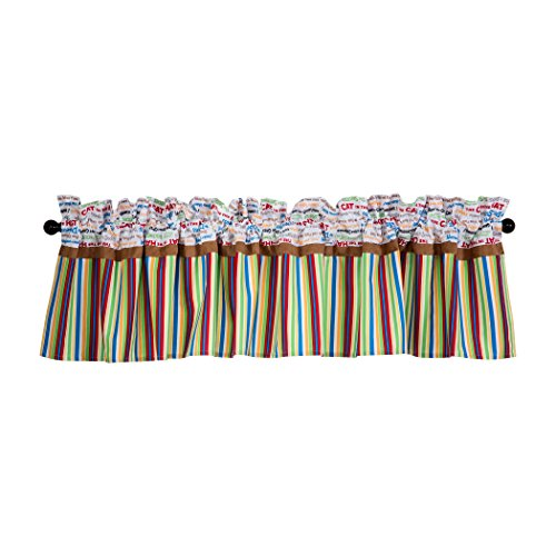 Trend Lab Dr. Seuss Alphabet Seuss Window Valance