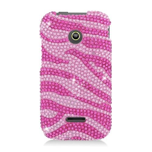Hw Prism Ii/U8686 Cs Diamond Cover Hot Pink Zebra 302
