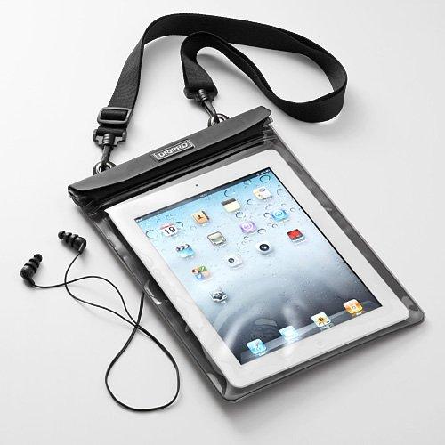 サンワダイレクト iPad防水ケース イヤフォン付き iPad Air iPad 第4世代 対応 200-PDA029