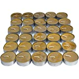 UCO Natural Beeswax Tealight Candles (30-Pack)