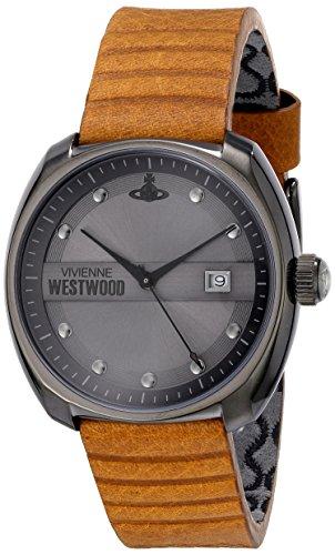 Vivienne Westwood - VV080GNTN - Montre Homme - Quartz Analogique - Bracelet Cuir Marron