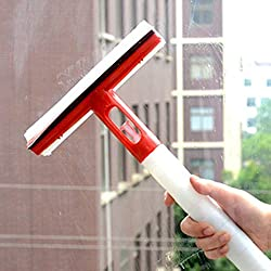 Glass And Window Cleaning Wiper Sprayer -- All India Free Shipping