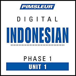Indonesian Phase 1, Unit 01: Learn to Speak and Understand Indonesian with Pimsleur Language Programs | [ Pimsleur]