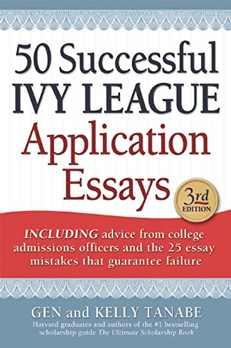 50 successful harvard admission essays Practical advice on writing the college application essay  50  successful harvard application essays by members of the harvard crimson.