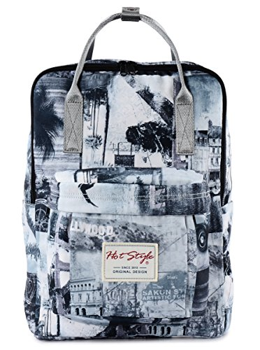 hotstyle-fashion-printed-bestie-vintage-london-backpack-daypack-for-school-girls-grey