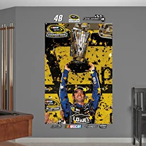 NASCAR Jimmie Johnson 2013 Sprint Cup Champion Mural by Fathead