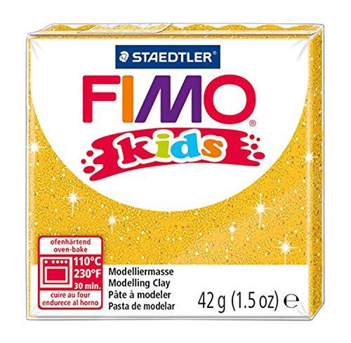 Pasta Fimo per Bambini Pacco Singolo da 42g - Oro Glitter