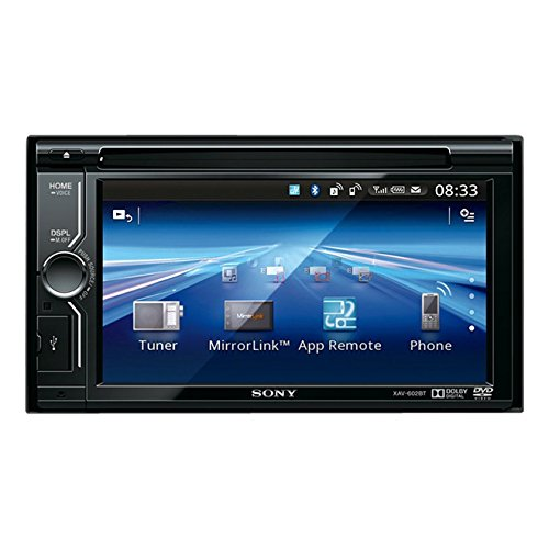 Sony XAV-602BT Highend 2DIN Moniceiver (USB, Bluetooth, App-Remote 2.0, MirrorLink)