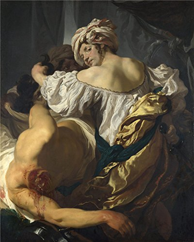 Oil Painting 'Johann Liss Judith In The Tent Of Holofernes', 24 x 30 inch / 61 x 76 cm , on High Definition HD canvas prints is for Gifts And Gym, Home Office And Powder Room Decoration