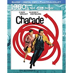 Charade 50th Anniversary  Edition (Blu-ray + Digital Copy + UltraViolet)