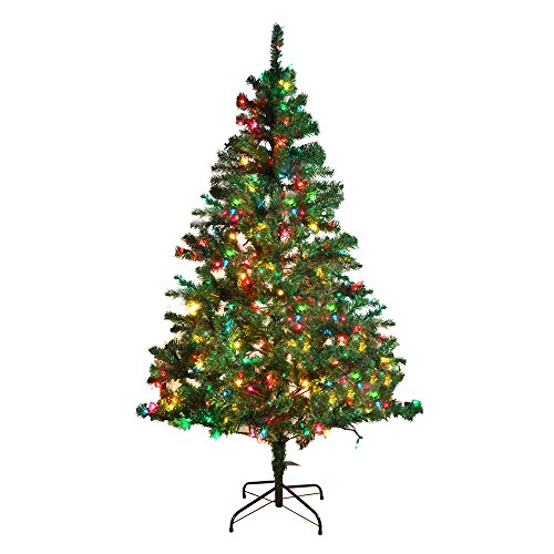 7 Foot/7Ft Holiday Pre-Lit Led Multi-Function Artificial Christmas Tree