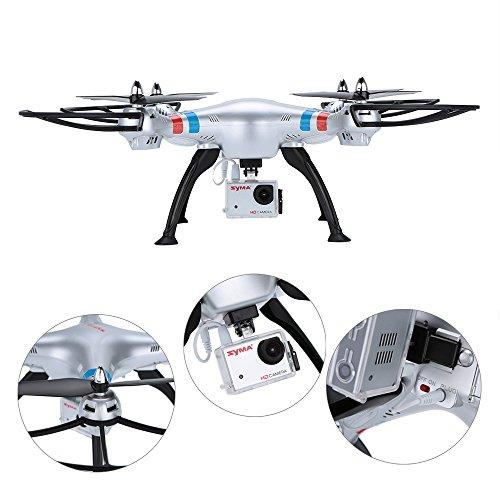 Syma X8G 2.4G 6 Achsen Gyro 4CH Quadrocopter mit 5MP HD Kamera -