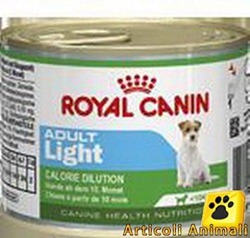 3 scatolette 195 gr. Royal canin adult light x cani adulti piccola taglia