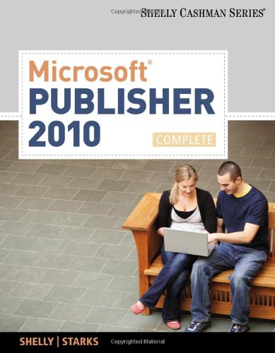 Microsoft Publisher 2010 0538746432 pdf