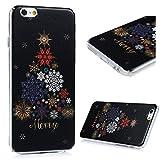 Amazon.co.jpiPhone6S/iPhone6 4.7インチ ケース スマホケース Lanveni ハードケース ポリカーボネート ペインティング 防塵 キズ防ぎ 保護 雪花 綺麗 人気