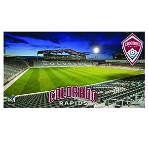 MLS Colorado Rapids 28-by-52-Inch Floor Mat by WinCraft