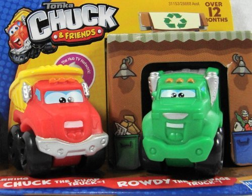 Tonka Chuck & Friends Chuck and Rowdy the Garbage Truck Mini 2 - Pack - 1