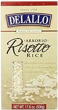 Delallo Arborio Risotto Rice 176 Oz Pack of 3