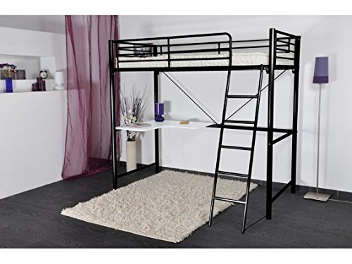 Mezzo - Mezzanine 90x190 avec bureau