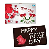 BOGATCHI VALENTINE'S CHOCOLATES, LOVE CHOCOLATES, CHOCOLATES FOR BOY, CHOCOLATES FOR GIRL, Happy Roses Day 110g