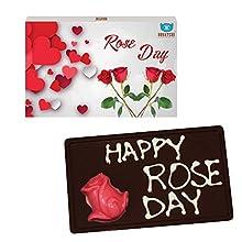 BOGATCHI VALENTINE'S CHOCOLATES, LOVE CHOCOLATES, CHOCOLATES FOR BOY, CHOCOLATES FOR GIRL, Happy Roses Day 110g